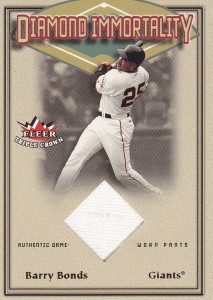 2002 Fleer GU Barry Bonds